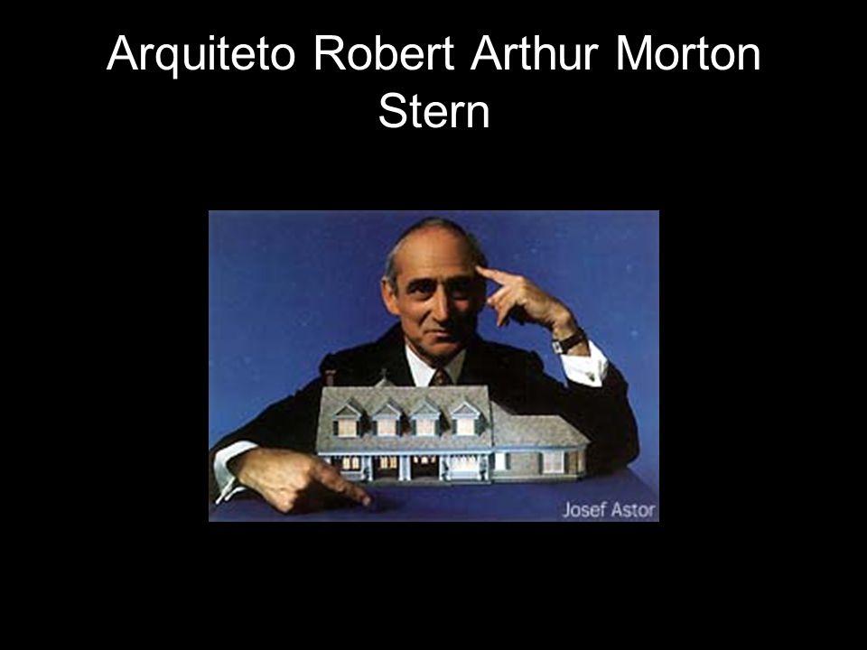Robert Stern desenvolveu uma arquitetura distintiva, cometida com síntese, tradição e inovação, sobretudo a criação do realce de um sentido significativo do lugar.