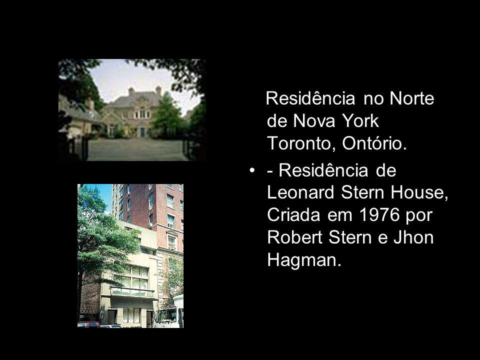 - Residência no Norte de Nova York Toronto, Ontório.
