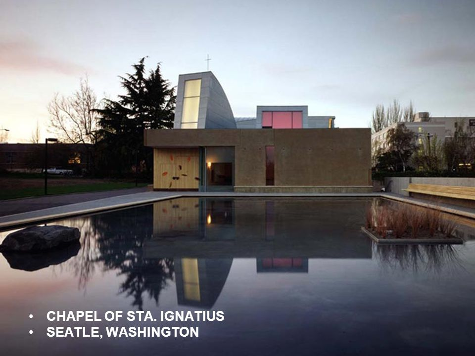 CHAPEL OF STA. IGNATIUS SEATLE, WASHINGTON