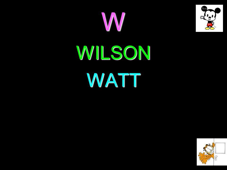 W WILSONWATT