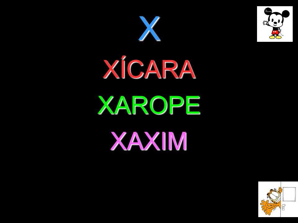 X XÍCARAXAROPEXAXIM