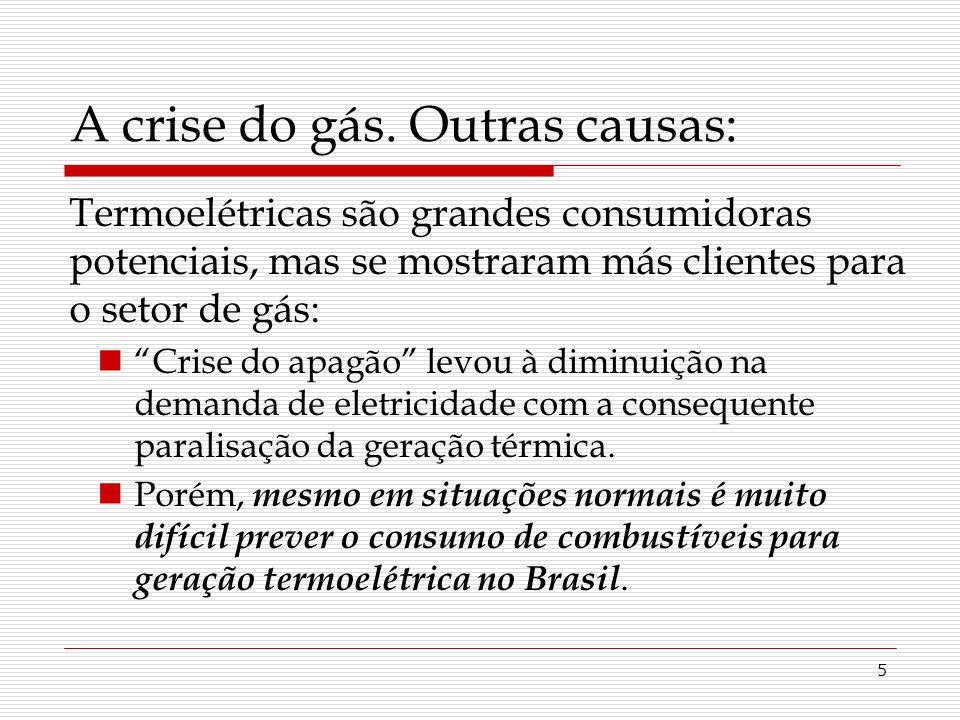 5 A crise do gás.