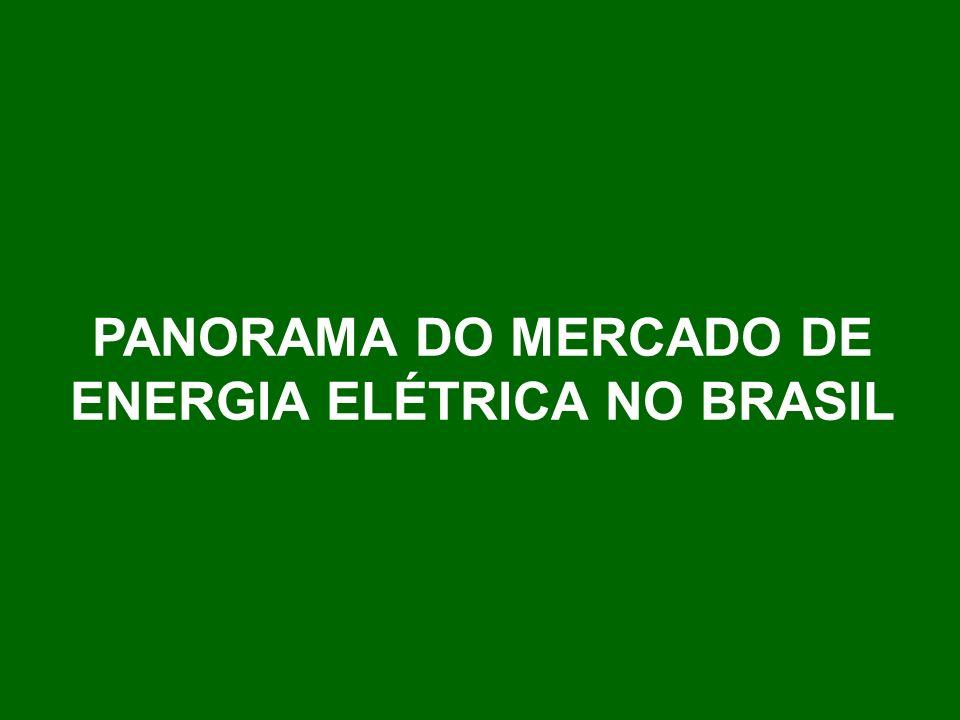 PANORAMA DO MERCADO DE ENERGIA ELÉTRICA NO BRASIL