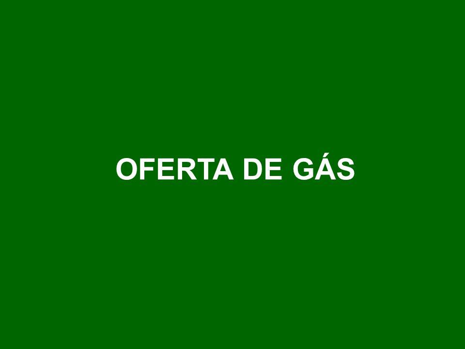 OFERTA DE GÁS
