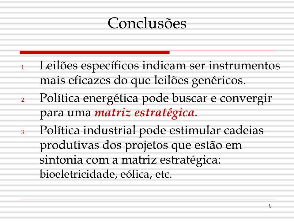 6 Conclusões 1.