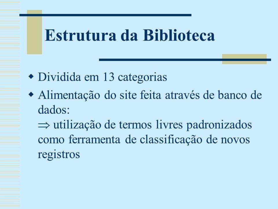 Público-Alvo Estudantes Professores/Pesquisadores Profissionais Público em geral Boletim Eletrônico BIVEC