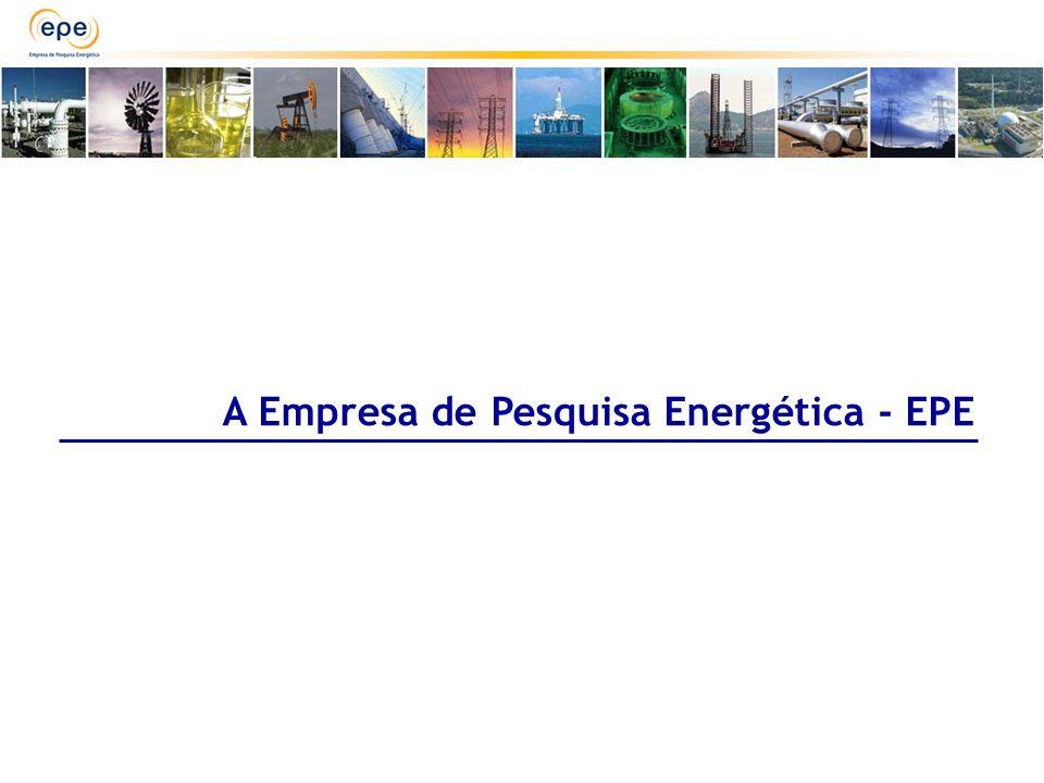 PLANO NACIONAL DE ENERGIA MATRIZ ENERGÉTICA NACIONAL PLANO DECENAL DE ENERGIA LEILÕES Petróleo e Gás Energia Elétrica Transmissão Biodiesel VISÃO DE PROGRAMAÇÃO ESTUDOS DE CURTO E MÉDIO PRAZOS (ATÉ 10 ANOS) VISÃO ESTRATÉGICA ESTUDOS DE LONGO PRAZO (ATÉ 30 ANOS) Processo de Planejamento do Setor Energético