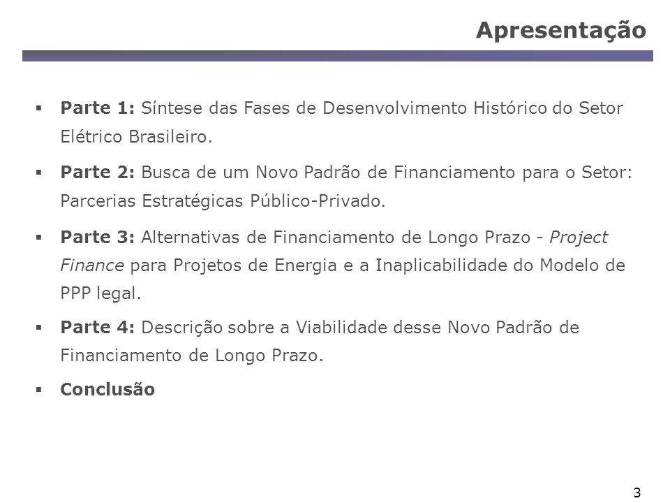 34 Project Finance : Medidas Mitigadoras Contratos: PPA Contrato de Take-or-Pay etc Instrumentos de Mercado: Opções Swap Contratos Futuros etc Seguros Garantias Complementares