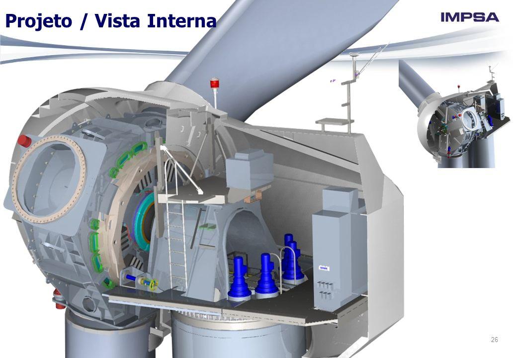 26 Projeto / Vista Interna