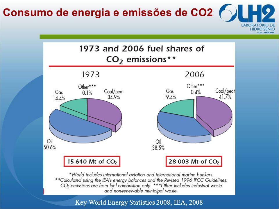 O consumo de energia e o meio ambiente
