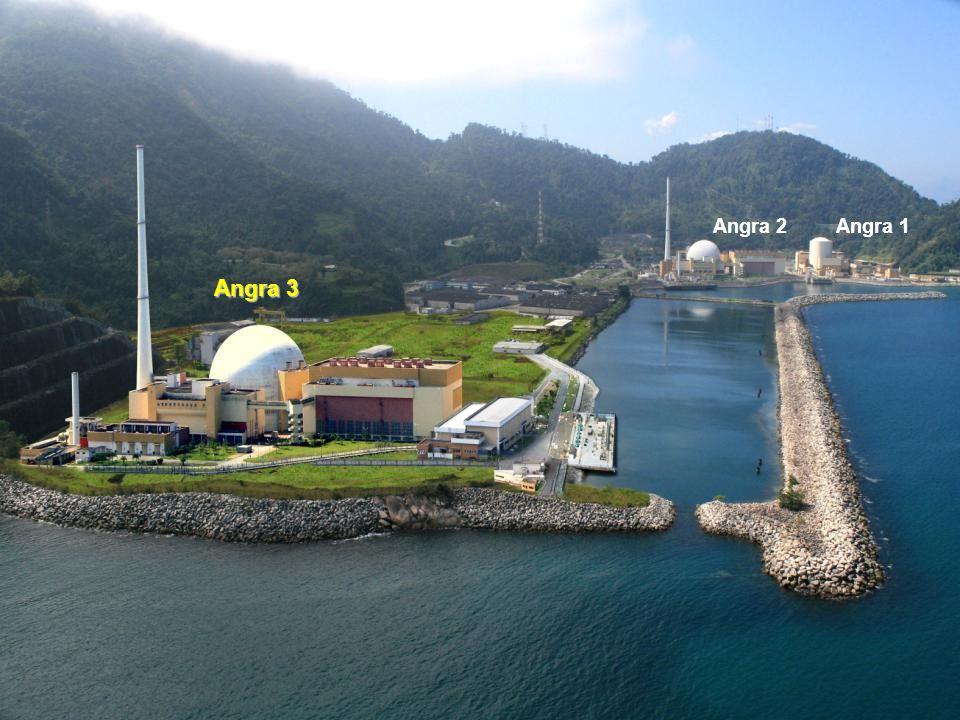 Pág. ELETRONUCLEAR Workshop: Presente e o futuro da energia nuclear no Brasil Angra 2Angra 1 Angra 3