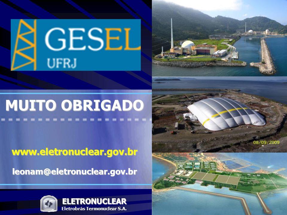 Pág. ELETRONUCLEAR Workshop: Presente e o futuro da energia nuclear no Brasil 50 ELETRONUCLEAR Eletrobrás Termonuclear S.A. MUITO OBRIGADO www.eletron
