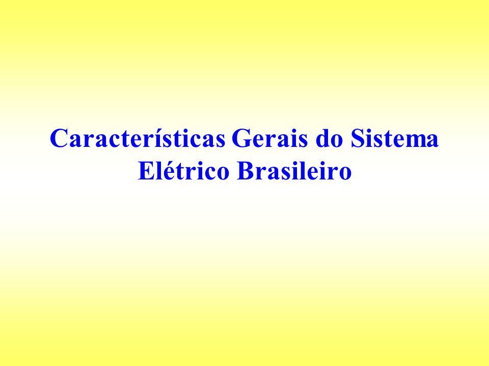 Características Gerais do Sistema Elétrico Brasileiro