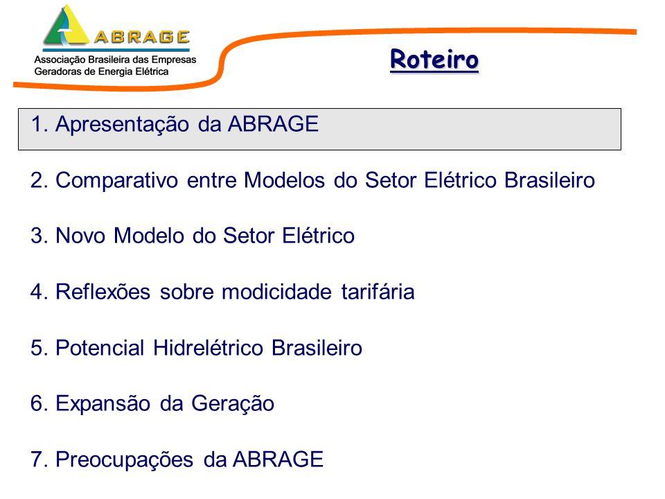 Associação civil sem fins lucrativos; Instituída em 07 de dezembro de 1998; Parque gerador predominantemente hidrelétrico; Representa cerca de 80% da geração do Brasil despachada pelo ONS.
