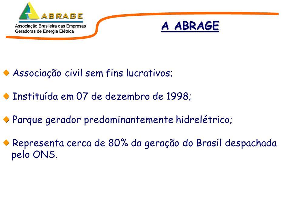 Regularização Plurianual O sistema hidrotérmico brasileiro vem perdendo capacidade relativa de armazenamento, com a conseqüente perda de regularização.