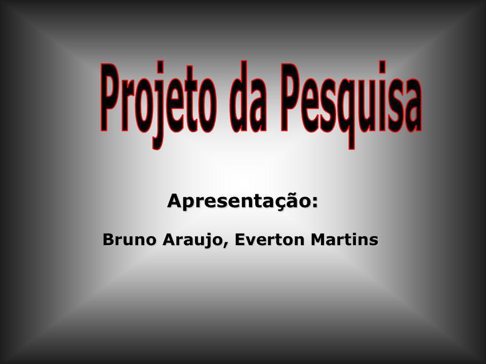 Apresentação: Bruno Araujo, Everton Martins