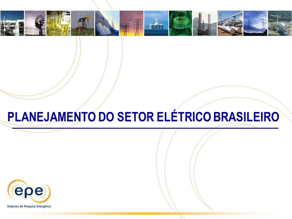 PLANEJAMENTO DO SETOR ELÉTRICO BRASILEIRO