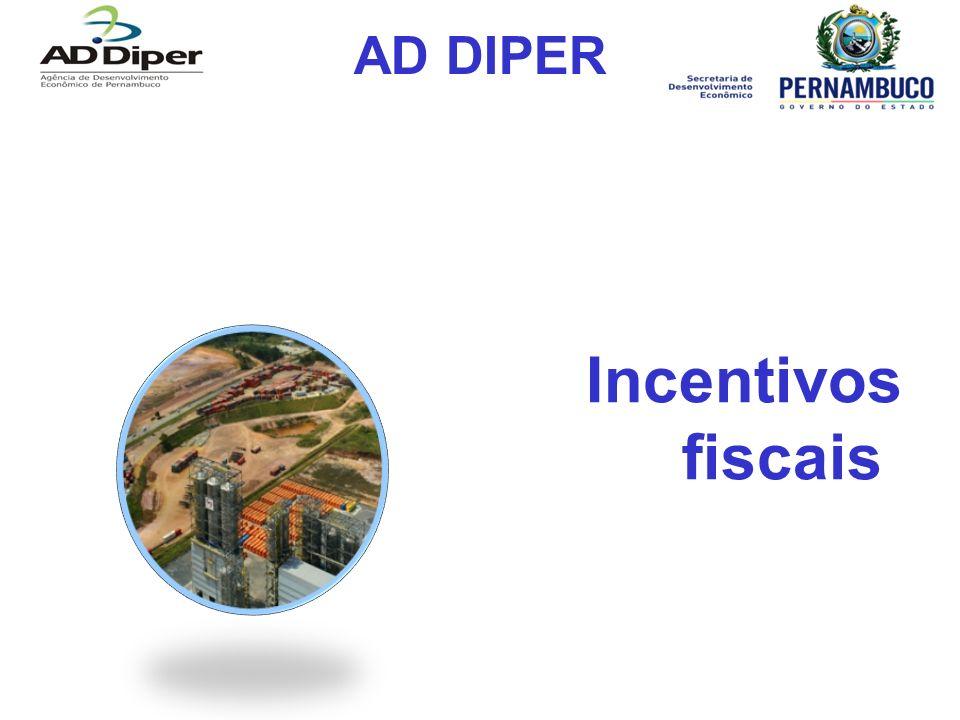 AD DIPER Incentivos fiscais