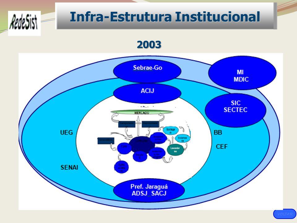 Infra-Estrutura Institucional 2003