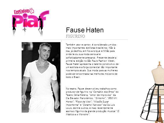 Também ator e cantor, é considerado um dos mais importantes estilistas brasileiros. Não à toa, já desfilou em Nova Iorque e Milão para onde levou sua