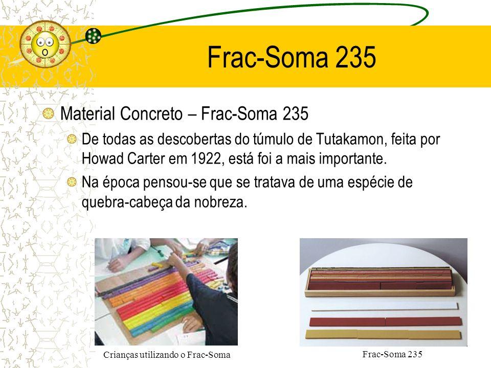 Frac-Soma 235 Material Concreto – Frac-Soma 235 De todas as descobertas do túmulo de Tutakamon, feita por Howad Carter em 1922, está foi a mais import