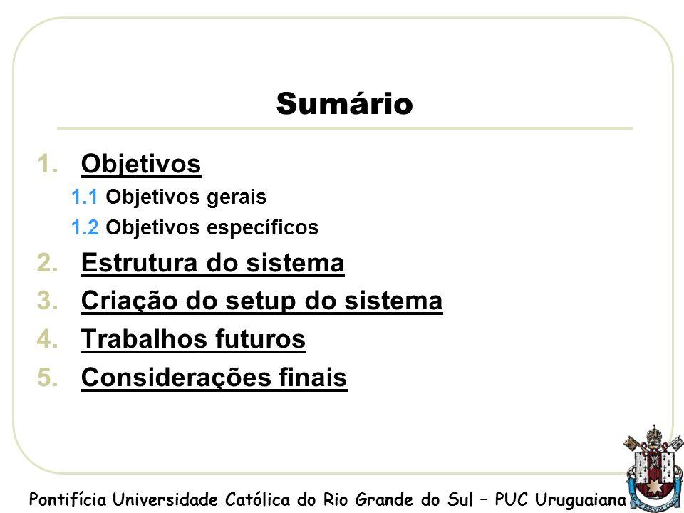 Tela Principal Pontifícia Universidade Católica do Rio Grande do Sul – PUC Uruguaiana