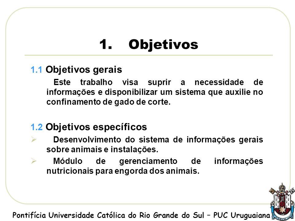 Tela de cadastro de alimentos Pontifícia Universidade Católica do Rio Grande do Sul – PUC Uruguaiana