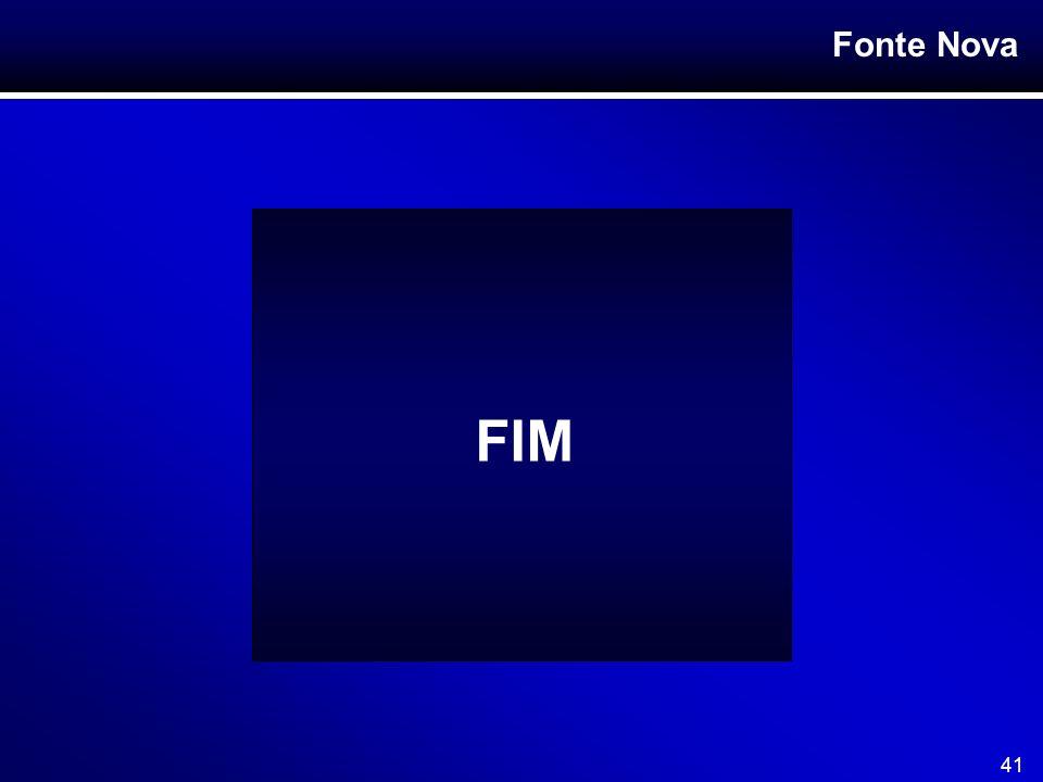 Fonte Nova 41 FIM