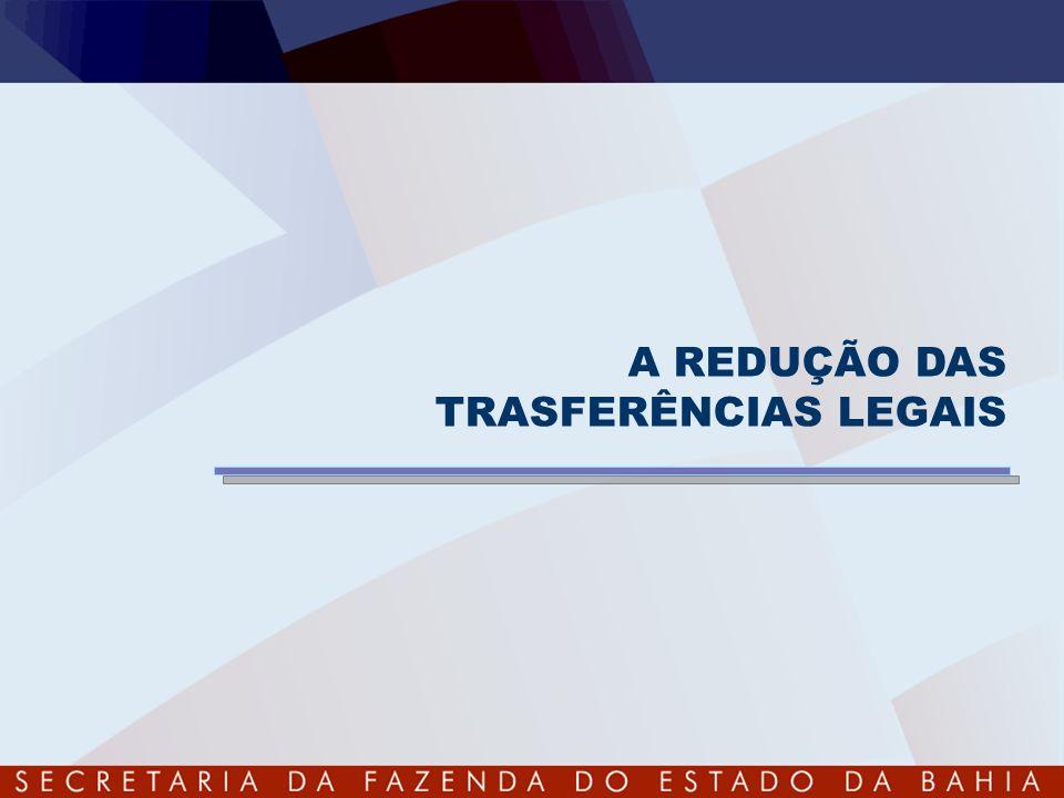 A REDUÇÃO DAS TRASFERÊNCIAS LEGAIS