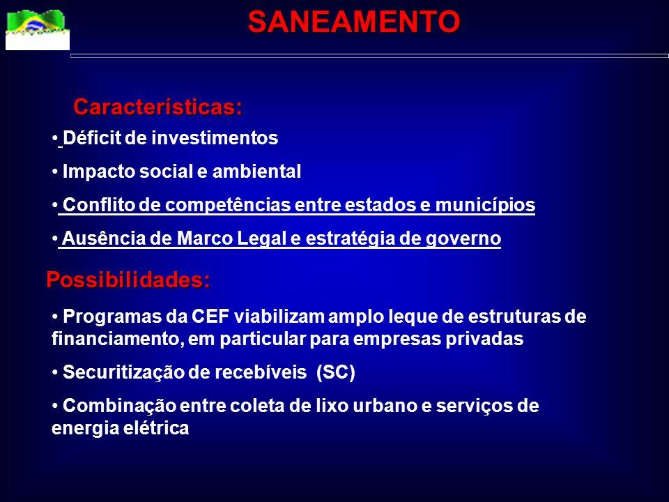 Bancos Privados Fornecedores de bens e serviços Contratos de manutenção Setor Pύblico Agentes Privados Construtora Contratos de operação, Empresas con