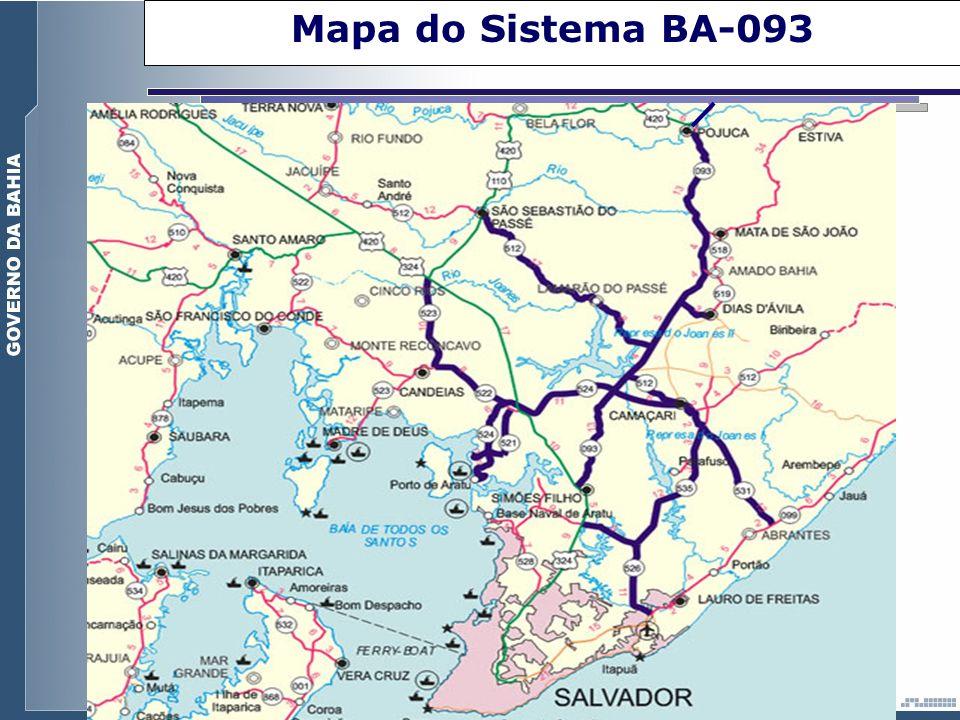 Mapa do Sistema BA-093
