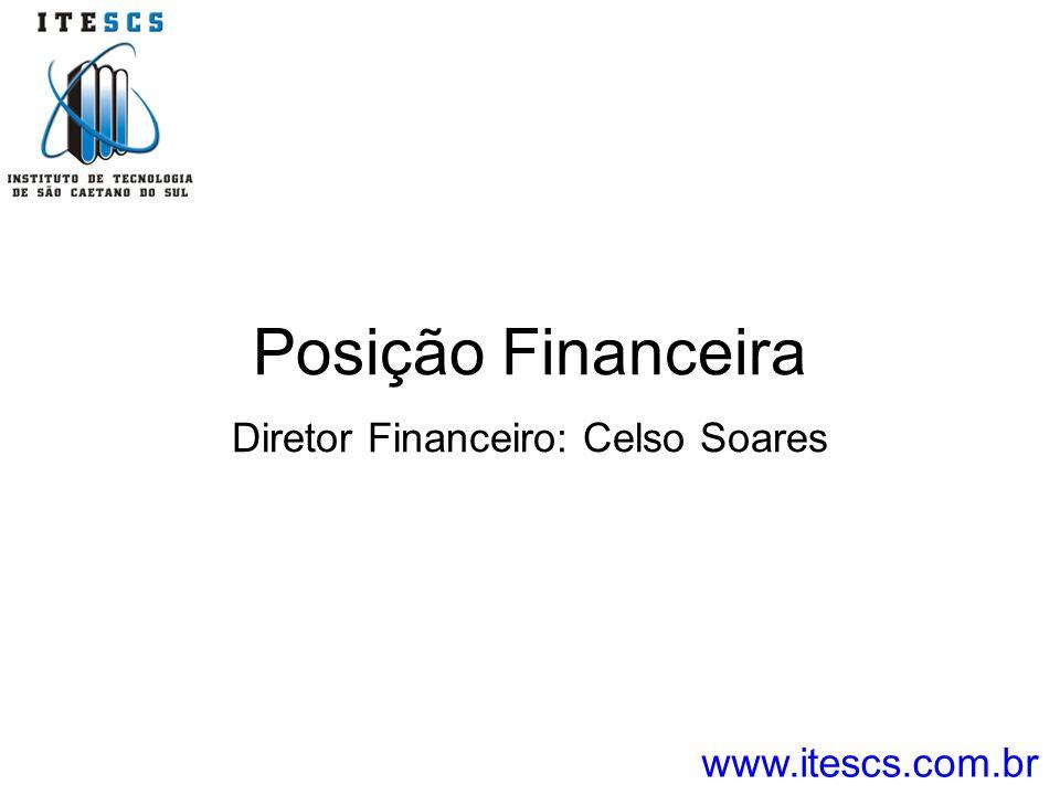 Posição Financeira Diretor Financeiro: Celso Soares www.itescs.com.br