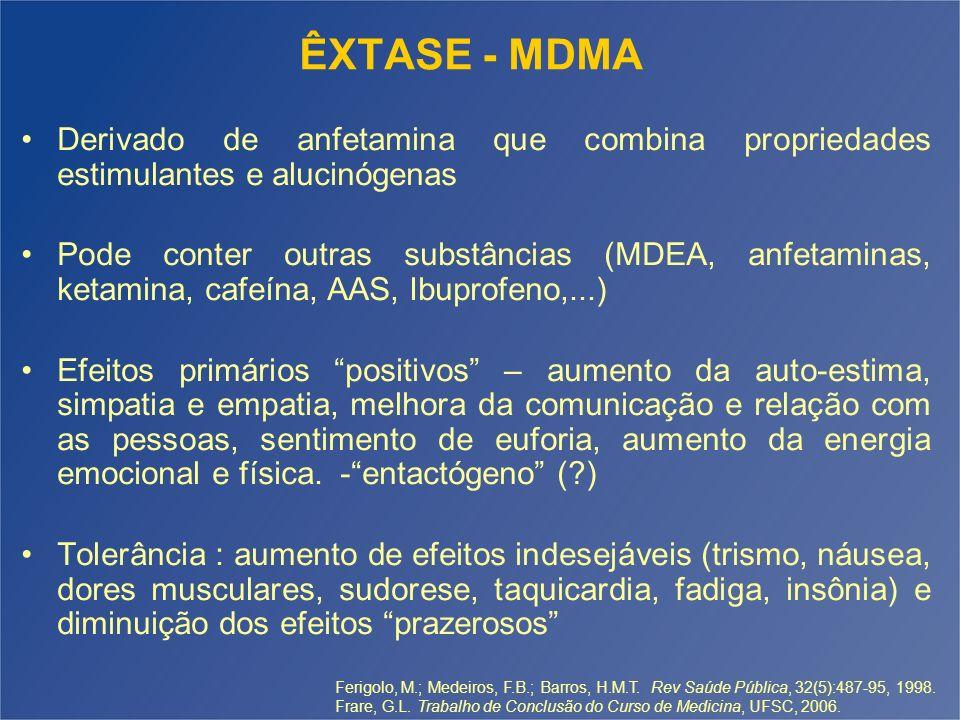 Artigo: Multiple Toxicity From 3,4- Methylenedioxymethamphetamine (Ecstasy) 3- M, 18 a, 5 compr.