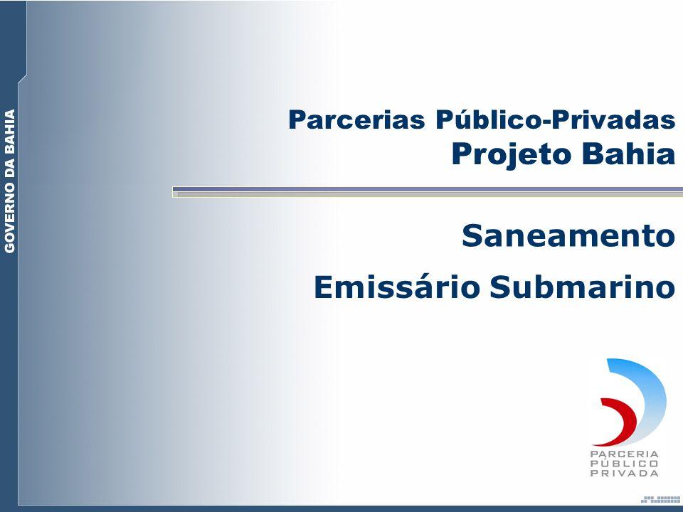 Parcerias Público-Privadas Projeto Bahia Saneamento Emissário Submarino