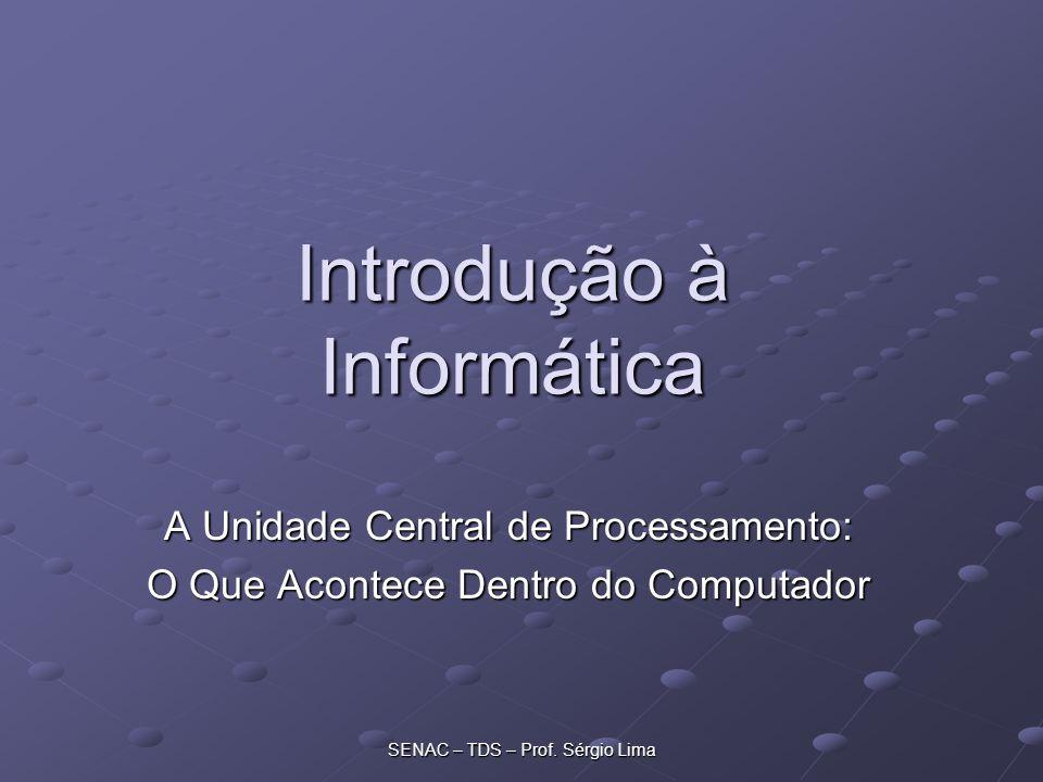 SENAC – TDS – Prof.