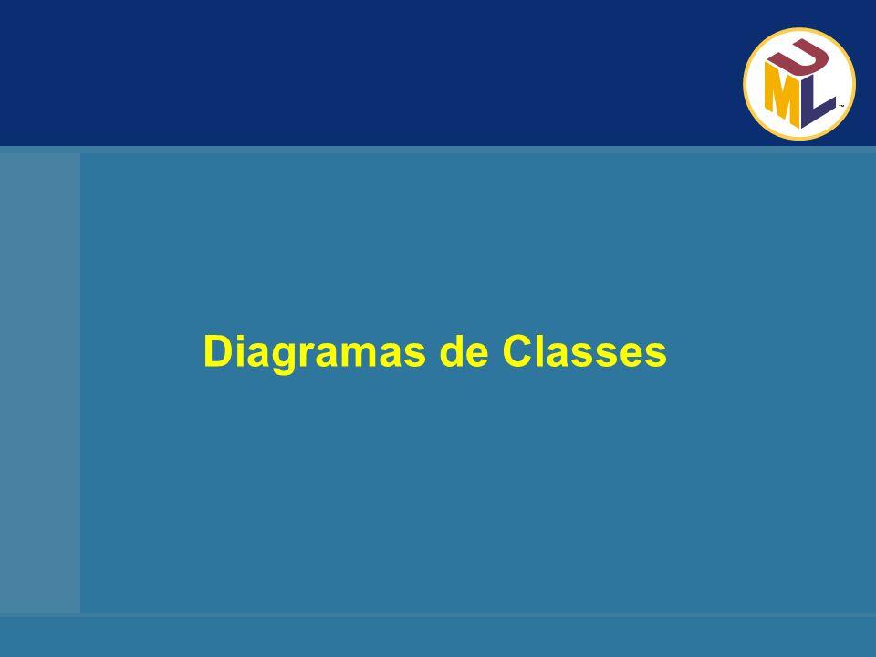 Diagramas da UML Visão Geral: CLASSES Uma classe é uma descrição de um conjunto de objetos que compartilham os mesmos atributos, operações e relacionamentos.