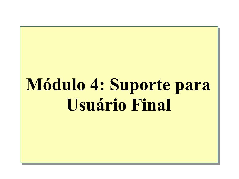 Módulo 4: Suporte para Usuário Final
