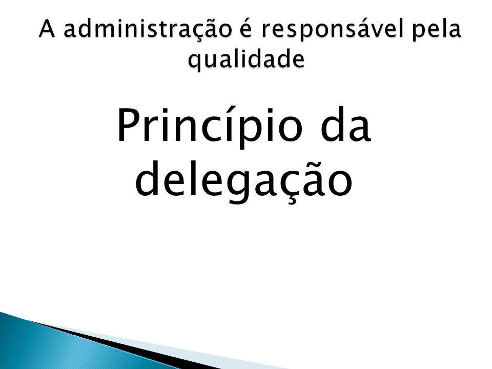 Princípio da delegação