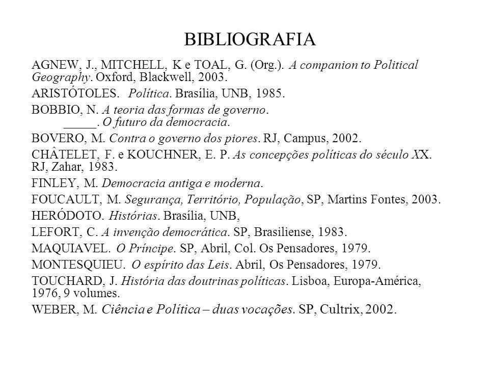 Prof. Dr. José William Vesentini – DG – FFLCH-USP 1 O que é Política? A política moderna, a democracia e sua espacialidade 1.A Política na história: a