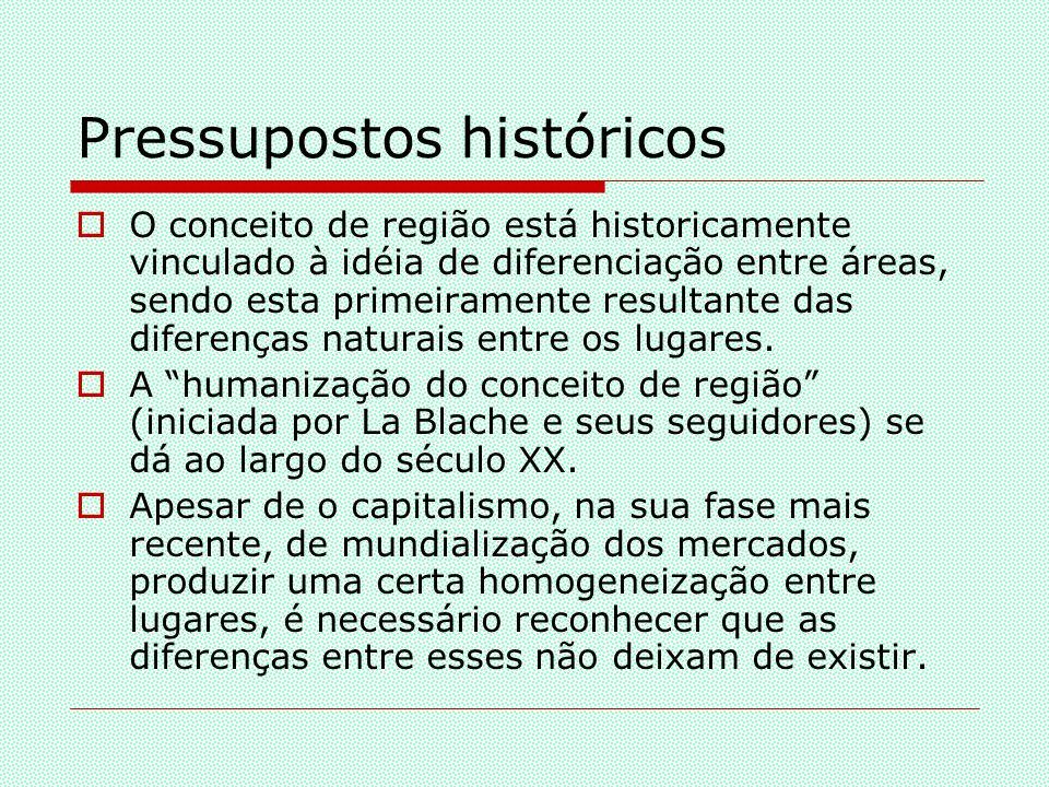 Regionalizações do espaço brasileiro Primeiras regionalizações: século XIX; Regionalização x paradigmas: Geografia Tradicional x Geografia Crítica
