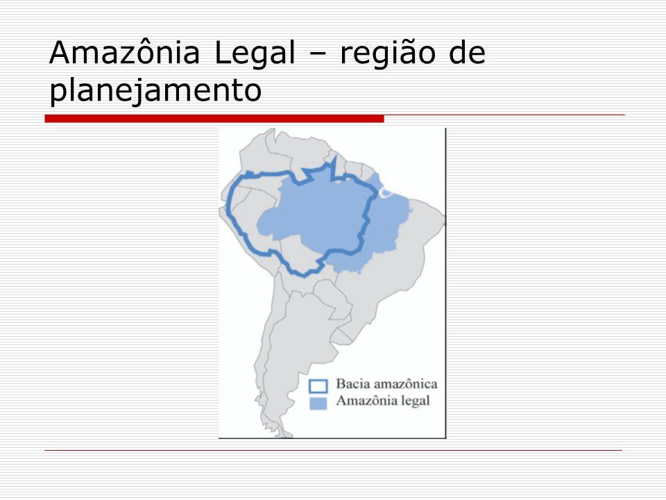 A questão regional Nordeste: iminência de conflitos Amazônia: necessidade de ocupar, povoar e valorizar economicamente (Costa, 1988)