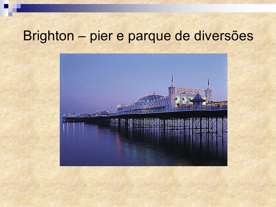 Brighton – pier e parque de diversões