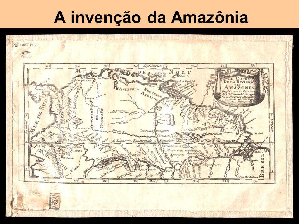 A invenção da Amazônia Um dos poucos casos de erro histórico e geográfico que permanece até hoje (com West Indies e Indios / Indígenas)