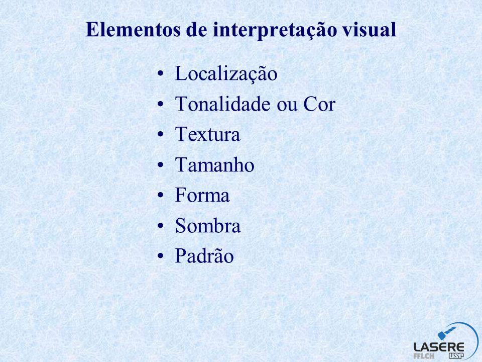 localização Esse elemento está associado às características geográficas e morfológicas de uma localidade, ou de um lugar.