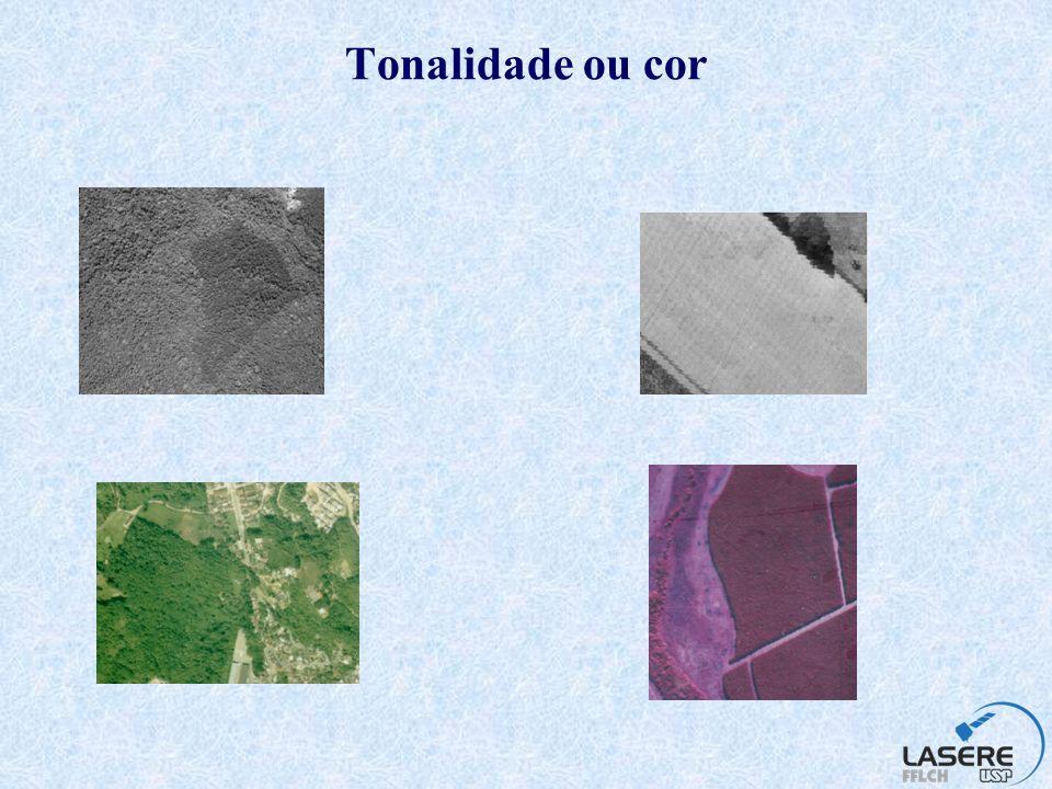 Textura Este elemento pode ser definido como a freqüência da variação de tons em uma imagem, o que depende, principalmente, da escala e da resolução do produto.