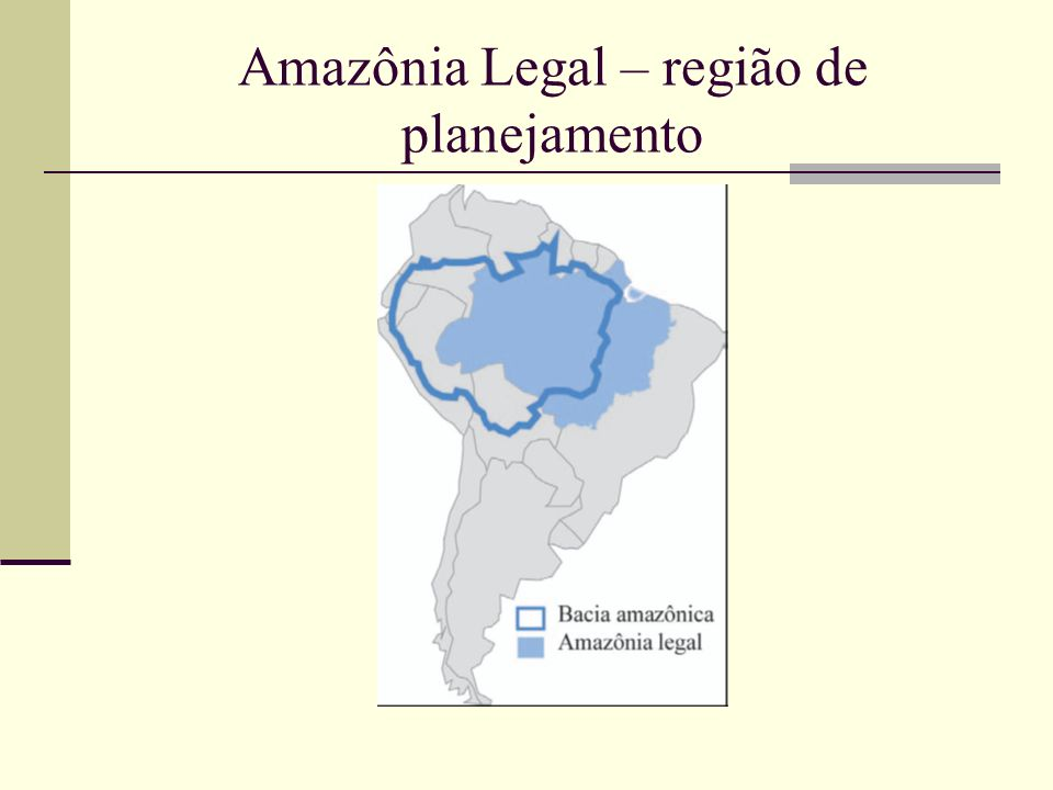 Amazônia, região e representação...área de aproximadamente 7,5 milhões de km 2, localizada na porção centro-oriental da América do Sul, cortada pelo Equador terrestre, com um clima quente e úmido, coberta por uma densa floresta tropical úmida, banhada por uma intrincada e extensa bacia hidrográfica, que tem o rio Solimões-Amazonas como eixo principal, habitada por uma população rarefeita constituída basicamente por populações indígenas ou caboclas e que abriga riquezas naturais incalculáveis (Gonçalves, 2001: 17)