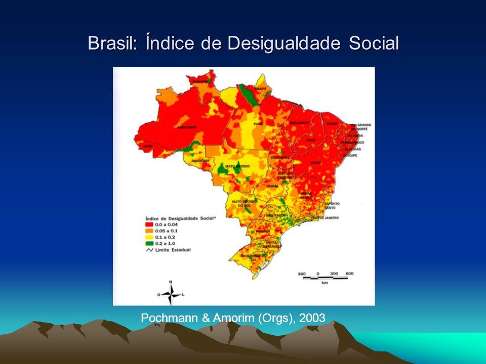 Brasil: Índice de Pobreza Pochmann & Amorim (Orgs), 2003
