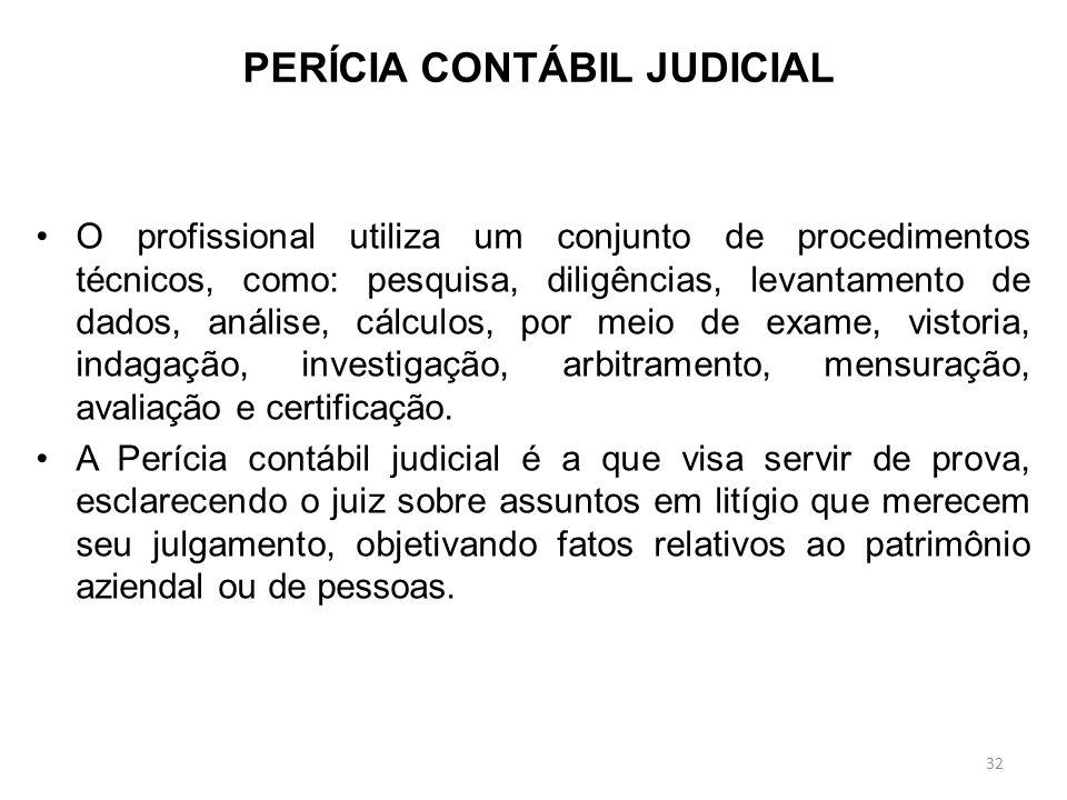 MOTIVOS PARA PERÍCIA JUDICIAL Oficiais: determinadas pelo juiz sem requerimento das partes; Requeridas: determinadas pelo juiz, com requerimento das p