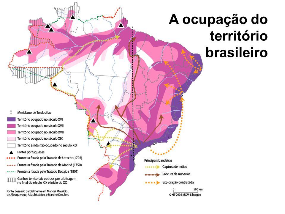 A economia e o território no século XVI