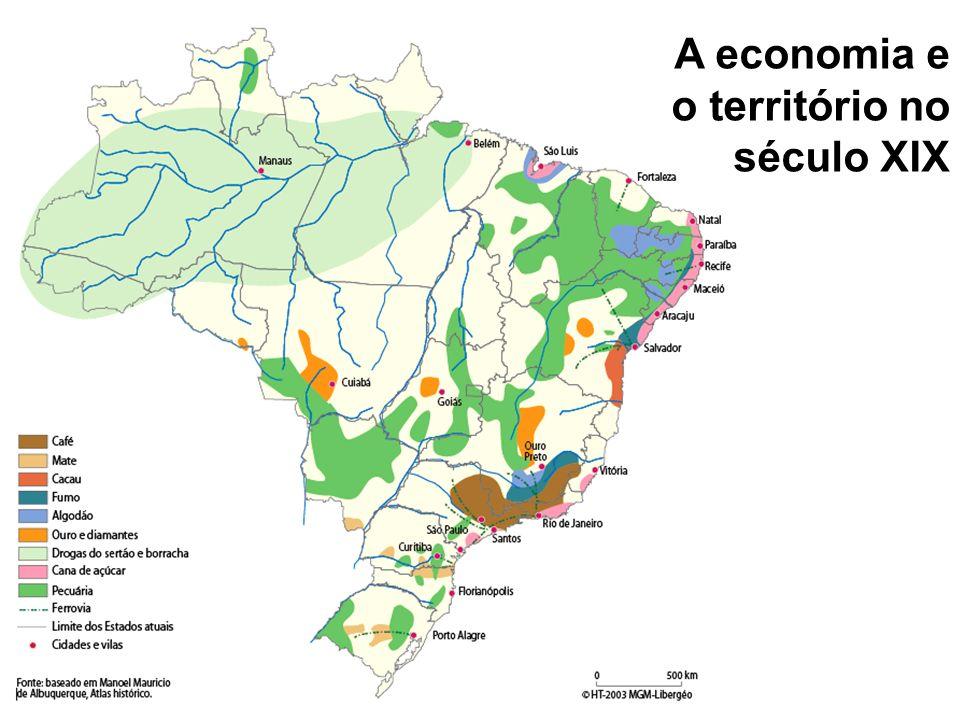 Gênese do território: um modelo